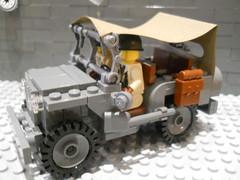 Brickmania Willys Jeep w/ Canvas (atam58) Tags: dan lego daniel awesome canvas ww2 siskind mmcb brickmania atam58