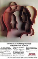 Vintage Ad #1,266: The way to develop energy resources... (jbcurio) Tags: energy oil vintagead conoco