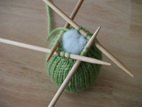 Knit Gumdrops, Step 3