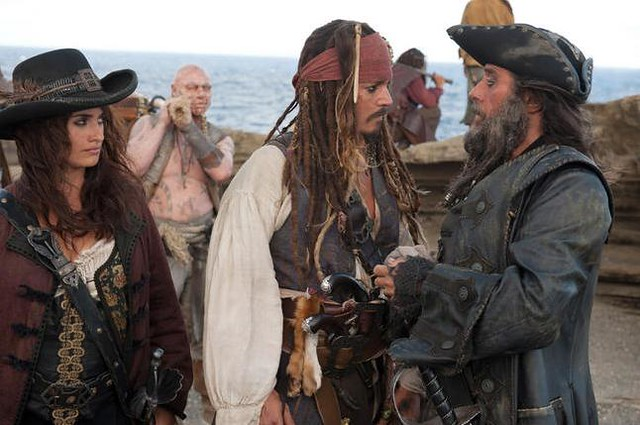 Piratas del Caribe 4: En costas extrañas