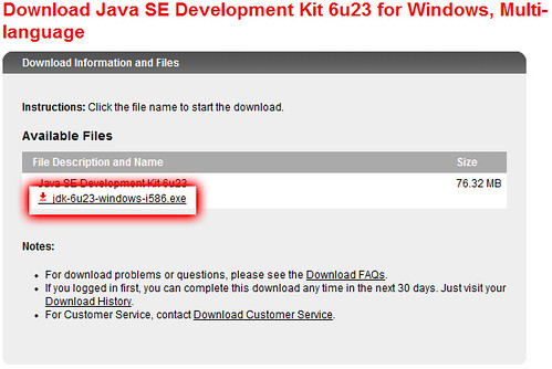 JDKのダウンロード03