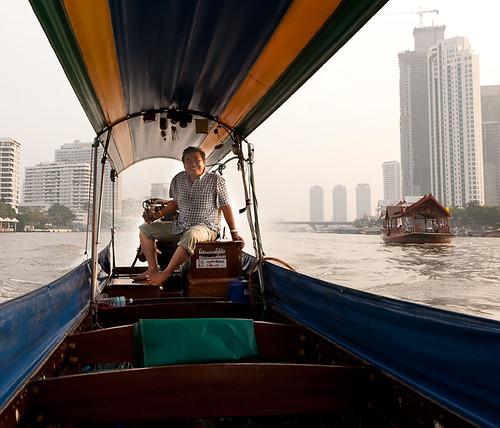 Chao Phraya Long Boat