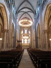 Cathédrale St-Pierre (Jbru89) Tags: switzerland suiza geneva geneve cathedral swiss flags cathédrale un unitednations stpierre ginebra palaisdenations
