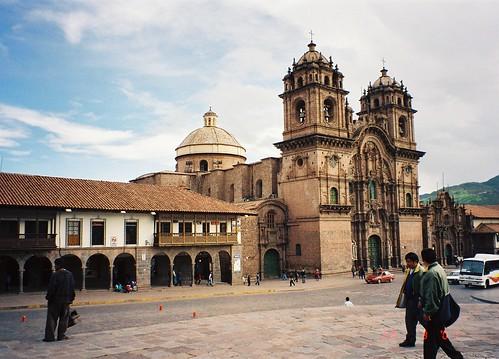Cathedral, Plaza des Armas, Cuzco, Peru