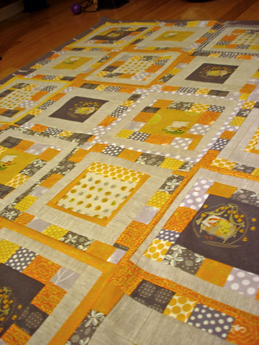 Willow's quilt top