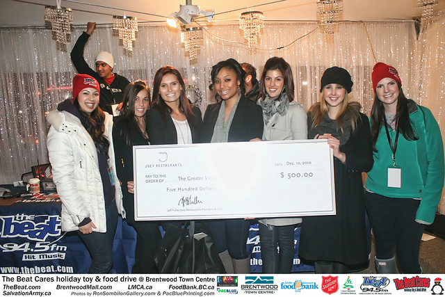 The BEAT CARES holiday food and toy drive at Brentwood Town Centre photos by Ron Sombilon Gallery (651) by Ron Sombilon Gallery