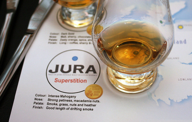 Jura Superstition whisky from the Islands