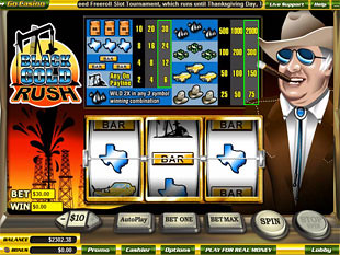 Black Gold Rush slot game online review