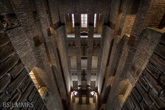 Into the depth (Bas Lammers) Tags: tower netherlands utrecht wideangle 1022mm hdr brickstone deinktpot canon50d mygearandmepremium mygearandmebronze mygearandmesilver mygearandmegold mygearandmeplatinum
