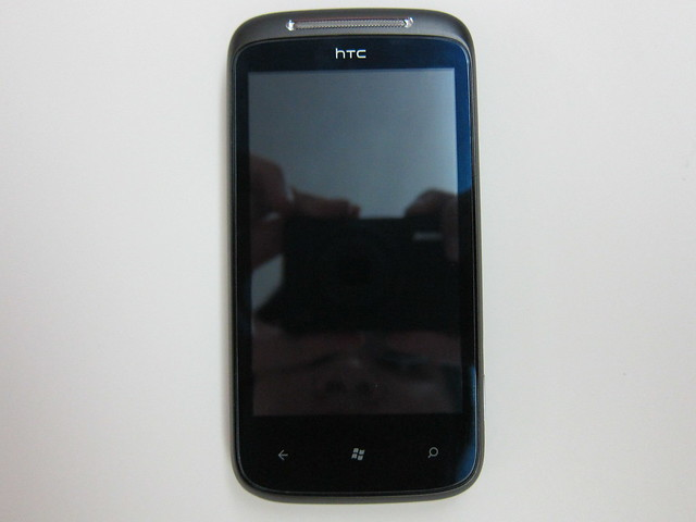 HTC 7 Mozart - Front View