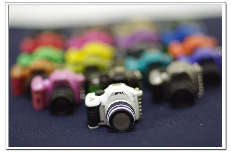 一次擁有 20 個 K-x 迷你相機~幸福啦~