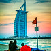 Family and the Burj