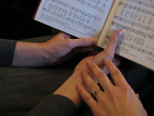 LL & Andrea hands