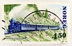 great stamp Norway 4.50 Kr. (Setesdalsbanen; heritage railway, Museumsbahn; 100th anniversary of Setesdal Line, 100 Jahre Setesdal-Bahn, Ligne du Setesdal) Norge Noreg postage Norway stamps Norwegen Briefmarke train Eisenbahn Railway Zug Lokomotive timbre (stampolina, thx for sending stamps! :)) Tags: verde green norway train postes norge stamps norwegen railway zug stamp norwegian porto noruega grün timbre 緑 postage steamengine franco norvegia steamtrain dampflok dampflokomotive selo marka lok ferrocarril ferrovia noreg yeşil sellos norvège 火车 locomotiva 鉄道 зеленый 挪威 verts briefmarke 绿色 蒸汽机车 francobollo escandinavia 铁路 timbres scandinavie timbreposte bollo паровоз железнаядорога voieferrée demiryolu 切手 أخضر vasút locomotiveàvapeur สีเขียว huǒchē locomotoradevapor марка हरा रेल 集邮 postapulu jíyóu маркаевропа 斯堪地那维亚 tiělù yóupiàoōuzhōu nuówēi 挪威王国 скандинав zhēngqìjīchē желе́знаядоро́га