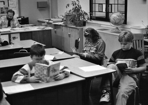 From My Archives: 1990 Schoolroom