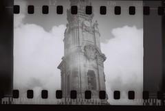Torre dos Clérigos (Uka wonderland) Tags: bw clouds analog 35mm lomo lomography porto oporto clérigos lomografia