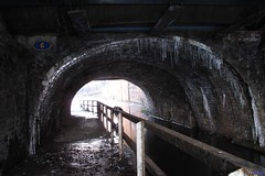 Under Manchester Road, Hyde (bandashing) Tags: winter england snow cold water manchester canal freeze icicle six sylhet bangladesh icicles underthebridge tameside uksnow bandashing