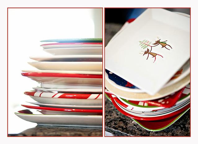 12.09.10 Christmas Plates