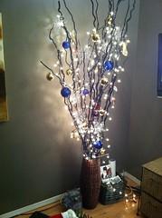 Unconventional Christmas Tree property stylist calgary: unconventional christmas tree