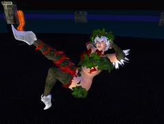 Holly Fairy 1 (Jubilant Quackenbush) Tags: christmas cute avatar curves adorable curvy cutie holly plush sl fairy secondlife kawaii cuteness happyholidays fracture plump thick aubrey faerie fae pudgy curvaceous voluptuous plussize plushav