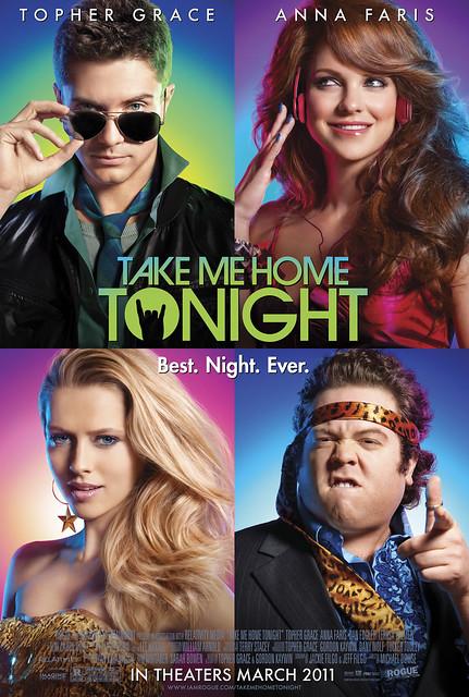 Take Me Home Tonight Movie,Topher Grace, Anna Faris, Dan Fogler, Teresa Palmer