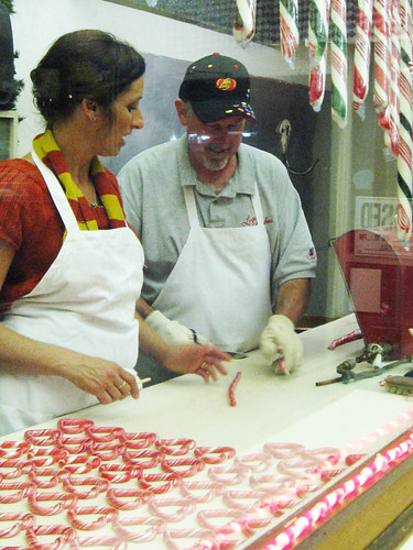 Handmade Candy Cane Making at Logan's Candy