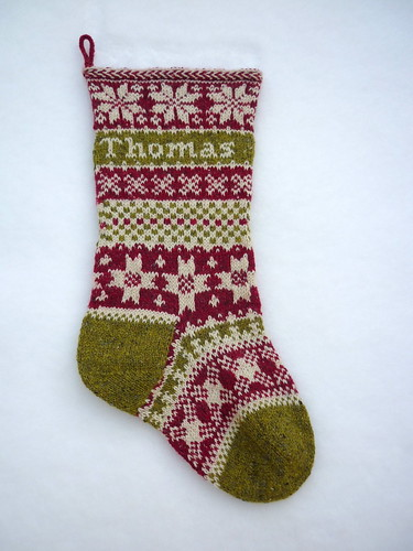 Thomas' Christmas Stocking