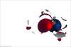 Merry Xmas - Explore (pascalbovet.com) Tags: xmas broken glass experimental destruction arduino xmasbulb strobist