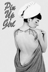 Pin Up Girl (Mirko Masala) Tags: copyright girl up logo shower pin photographer  page bettiepage bagno pinup masala bettie mirko fotografo tatuaggio doccia anni50 michelacorrias mirkomasala