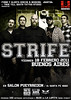 STRIFE en ARGENTINA (flyer/promo) VIERNES 18 de