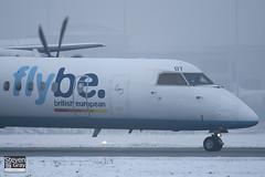 G-JEDT - 4088 - FlyBe - De Havilland Canada DHC-8-402Q Dash 8 - Luton - 101222 - Steven Gray - IMG_7150