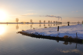 Winters waterlandschap - Winter water landscape