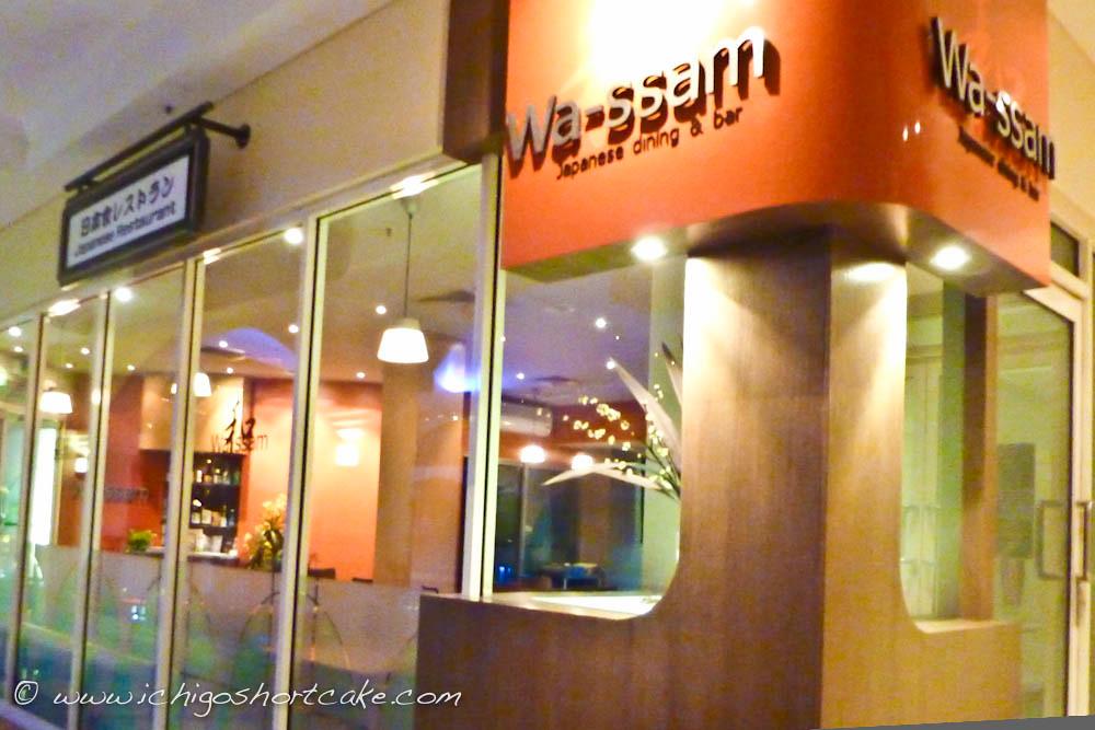 Wassam Japanese Restaurant