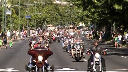 Motorcycle Riders 2010 Street Bikers United Toys for Tots Honolulu, Hawaii