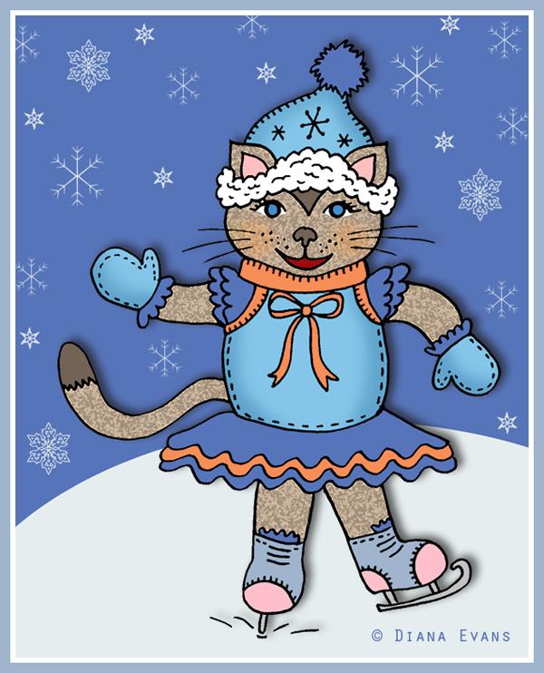 skating cat 2