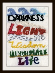 Darkness Light Wisdom Life: Front