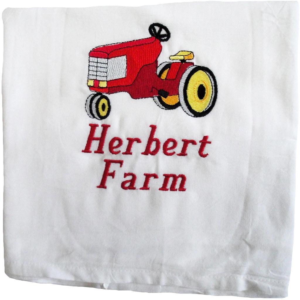 Farm Flour Sack Towel