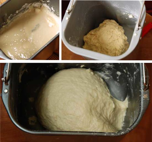 illustration of perfect dough in a bread machine