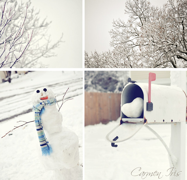 winter love has finally arrived...