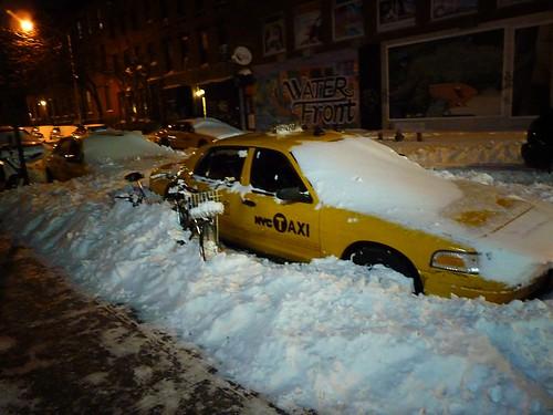 Blizzard 2010, East Village, New York City 105