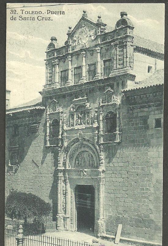 Museo de santa Cruz a comienzos del siglo XX. Foto Grafos