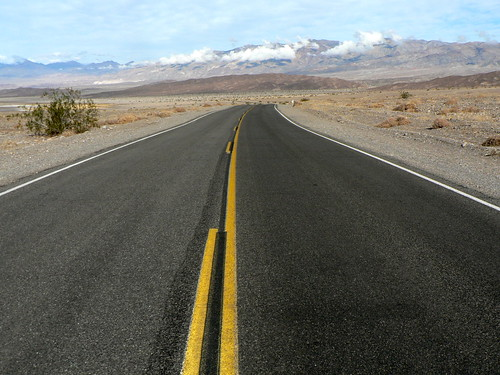 Open Road, Death Valley, CA 2010