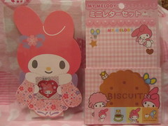 My Melody Stationery & Stickers (Suki Melody) Tags: pink rabbit bunny paper mouse flat hellokitty stickers pad sanrio collection note melody biscuit kawaii kimono stationery pads mymelody