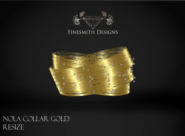 Nola Collar gold