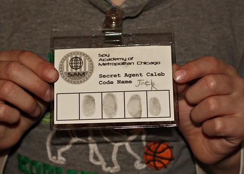 Spy Academy Badge