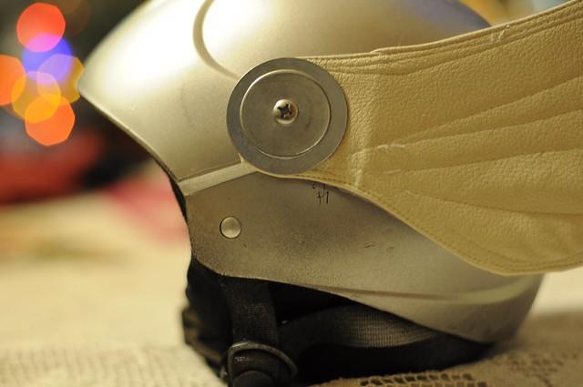 helmet close
