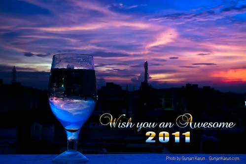 Wish you an awesome 2011