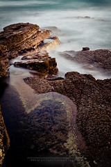 Cape Patterson (Marcel Van der Horst Photographer) Tags: travel sunset vacation blur beach canon landscape coast dusk australia victoria tamron slowexposure inverloch 50d capepatterson 1750mmf28