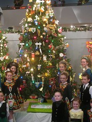 Irish Christmas Tree (edenpictures) Tags: irish christmastree molly irishdancing museumofscienceindustry christmasaroundtheworld mcnultyirishdancers mcnultyschoolofirishdance