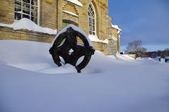 Rngasrist. (Jaan Keinaste) Tags: winter snow church estonia pentax lumi kirik eesti talv k7 surnuaed vanagram raevald jrikirik rngasrist